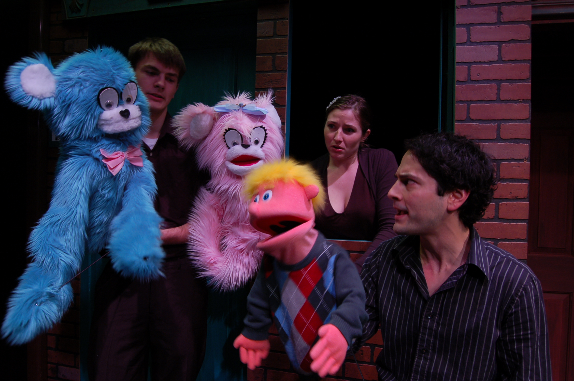 What S On In Eugene Review Avenue Q At Actors Cabaret The View